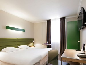 Toulouse Hotel Room